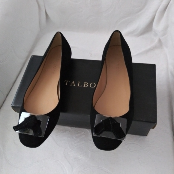 Talbots Shoes - Suede ballet flats